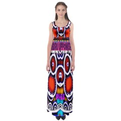 Nibiru Power Up Empire Waist Maxi Dress