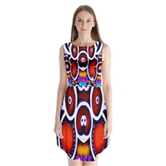 Nibiru Power Up Sleeveless Chiffon Dress