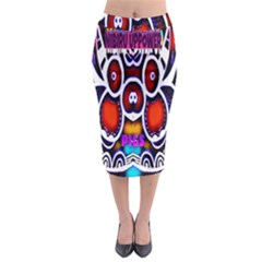 Nibiru Power Up Midi Pencil Skirt