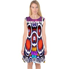 Nibiru Power Up Capsleeve Midi Dress