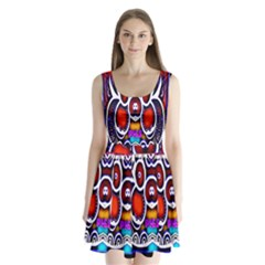 Nibiru Power Up Split Back Mini Dress