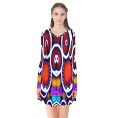 Nibiru Power Up Flare Dress