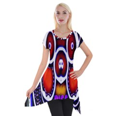 Nibiru Power Up Short Sleeve Side Drop Tunic