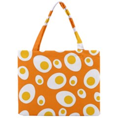 Orange Circle Egg Mini Tote Bag