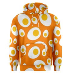 Orange Circle Egg Men s Pullover Hoodie