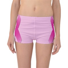 Pink Breast Cancer Symptoms Sign Reversible Bikini Bottoms