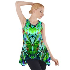 Eco Centered Side Drop Tank Tunic
