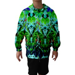 Eco Centered Hooded Wind Breaker (Kids)