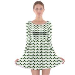 Shamrock Long Sleeve Skater Dress