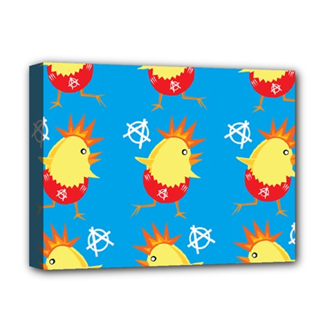 Easter Chick Deluxe Canvas 16  x 12