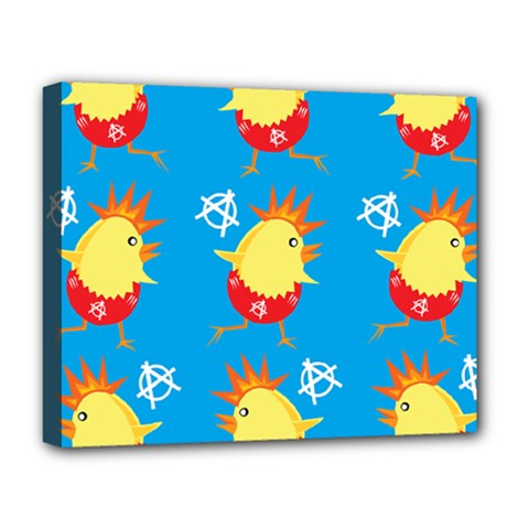 Easter Chick Deluxe Canvas 20  x 16