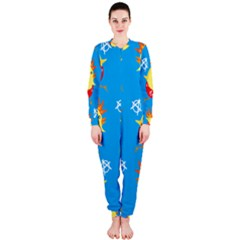 Easter Chick OnePiece Jumpsuit (Ladies)