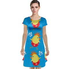 Easter Chick Cap Sleeve Nightdress