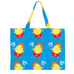Easter Chick Large Tote Bag