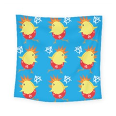 Easter Chick Square Tapestry (small)