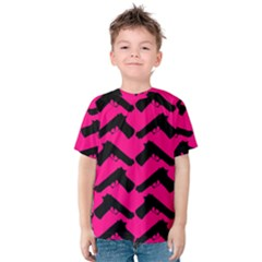 Pink Gun Kids  Cotton Tee