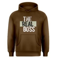 The real boss - Men s Pullover Hoodie