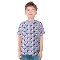 Purple Eyeballs Kids  Cotton Tee