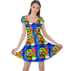 Zombies Cap Sleeve Dresses