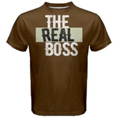 The Real Boss   Men s Cotton Tee