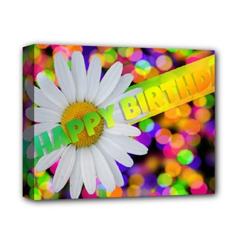 Happy Birthday Deluxe Canvas 14  x 11