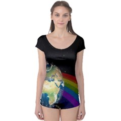 Earth Boyleg Leotard