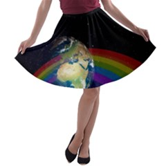 Earth A-line Skater Skirt