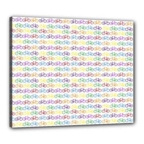 Bicycles Canvas 24  x 20