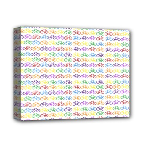 Bicycles Deluxe Canvas 14  x 11
