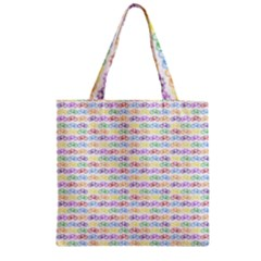 Bicycles Zipper Grocery Tote Bag