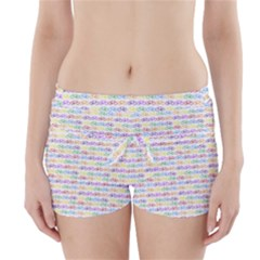 Bicycles Boyleg Bikini Wrap Bottoms