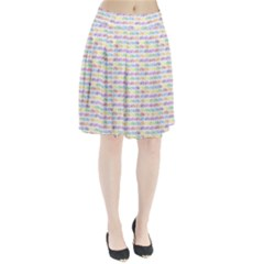 Bicycles Pleated Skirt