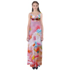 Birthday Cake Empire Waist Maxi Dress