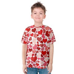 Red Hearts Kids  Cotton Tee