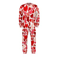 Red Hearts OnePiece Jumpsuit (Kids)