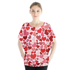 Red Hearts Blouse