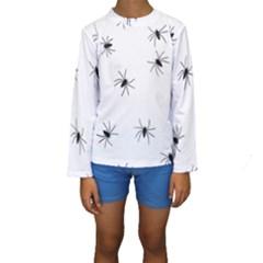 Spiders Kids  Long Sleeve Swimwear