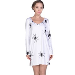 Spiders Long Sleeve Nightdress
