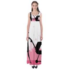 Milf Empire Waist Maxi Dress