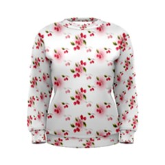 Vintage Cherry Women s Sweatshirt