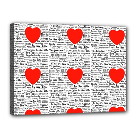 I Love You Canvas 16  x 12