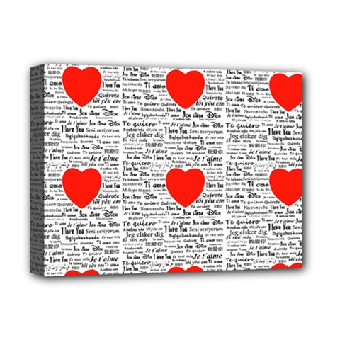 I Love You Deluxe Canvas 16  x 12