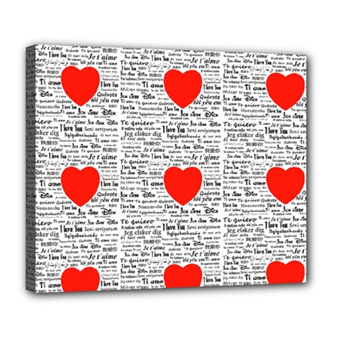 I Love You Deluxe Canvas 24  x 20