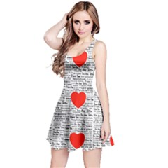 I Love You Reversible Sleeveless Dress