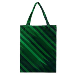 Abstract Blue Stripe Pattern Background Classic Tote Bag