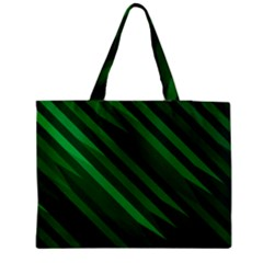 Abstract Blue Stripe Pattern Background Medium Tote Bag