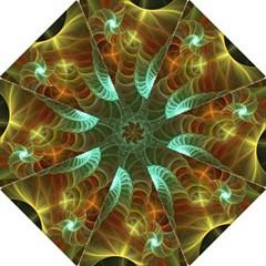 Art Shell Spirals Texture Folding Umbrellas