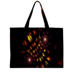 Art Design Image Oily Spirals Texture Zipper Mini Tote Bag
