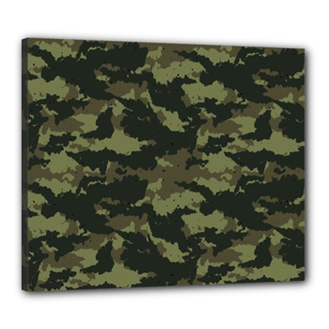 Camo Pattern Canvas 24  x 20