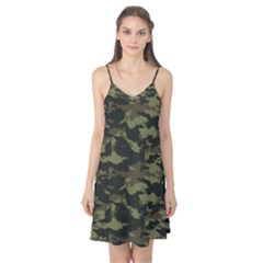 Camo Pattern Camis Nightgown